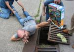 Adventure Flakes! A 48hr Film Festival crew works together to retrieve a custom prop from a storm drain..